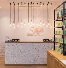 beauty salon lighting. saje natural wellness by jennifer dunn design halifax nova scotia u2013 canada retail beauty salon lighting t
