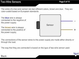 wire dc sensor working principle 2 wire dc sensor working principle