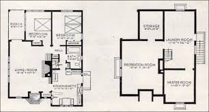better homes and gardens house plans.  And 1937 Bildcost No 602 Basement Throughout Better Homes And Gardens House Plans 5