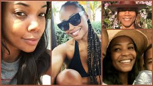 20 black celebrities who ditched the makeup and sla anyway