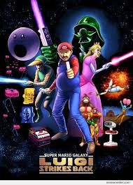 Super Mario Galaxy - Luigi strikes back by ben - Meme Center via Relatably.com