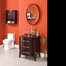 24 Inch Sink Cabinet 24 Inch Bathroom Vanity With Vessel Sink Image Roselawnlutheran