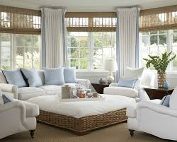 Wicker Living Room Sets Living Room Attractive Sunroom Decor With White Timber Wall And