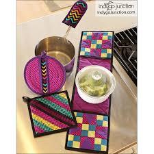 Quilted Potholder Patterns Interesting Inspiration Design