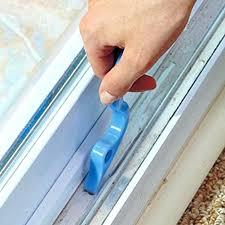 this tiny brush helps you clean inside window tracks and tight areas window track brush sliding
