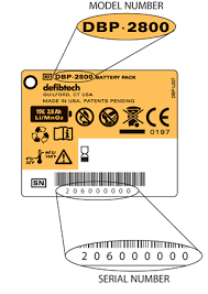 Battery Pack Serial Number Verification Defibtech