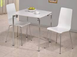 Bianca Round Glass Dining Table With Four Chairs By Signature Small Kitchen Table And Four Chairs