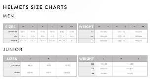 Scott Helmet Size Chart