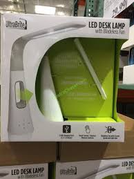 Ultrabrite Led Desk Lamp Adorable UltraBrite LED Desk Lamp WFan The Liquidation Team