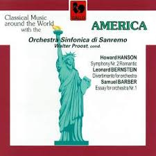 barber first essay for orchestra op page of presto hanson symphony no 2 op 30 r tic bernstein