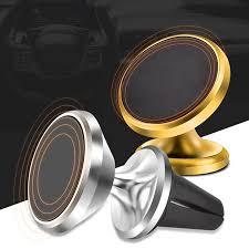 Universal <b>360 Degree Rotation</b> Magnetic <b>Car Phone</b> Holder Magnet ...