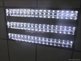 48w led grid light recessed light ceiling light office lighting 2