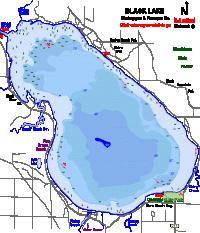 Walloon Lake Depth Chart 9 Best Walloon Lake Maps