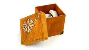 diy wooden box string art design
