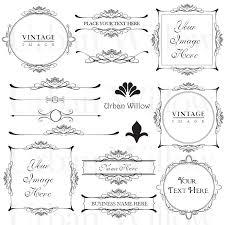 vintage frame design png. 🔎zoom Vintage Frame Design Png