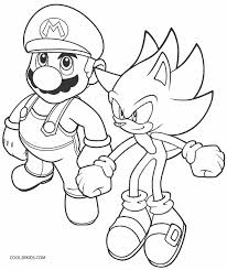 Small Picture Printable Sonic Coloring Pages For Kids Cool2bKids