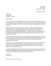 Writing Recommendation Letter Up Date Screnshoots Template Marevinho
