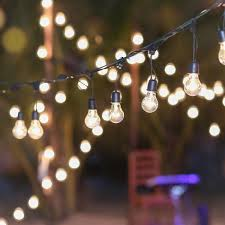 outdoor strand lighting. Makeshift Canopy Outdoor Strand Lighting N