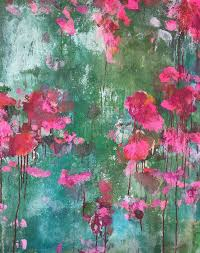 image result for abstract flower art images