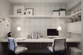 home office. Wallpaper-adds-to-the-home-office-in-a- Home Office