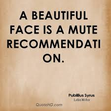 Quote On Beautiful Face