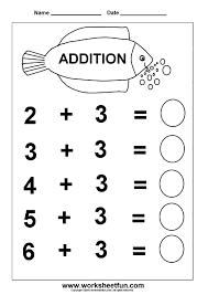 Coloring Pages: ... Kindergarten Addition Worksheets / FREE ...