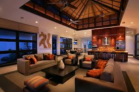 classy red living room ideas exquisite design. classy use of orange and black in the tropical living room design k2 red ideas exquisite