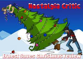 The Nostalgia Critic  I Fucking Love Christmas  Doug Walker Nostalgia Critic Christmas Tree
