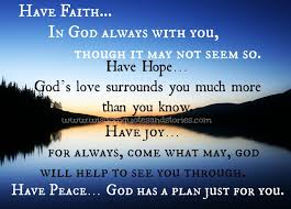Have Faith In God Quotes Gorgeous God Has A Plan Just For You Wisdom Quotes Stories