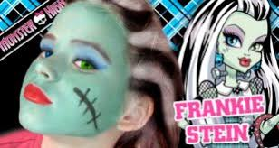 emma shows you to do your costume makeup like frankie stein from monster high emma is one of you s youngest makeup gurus at only 8 years old