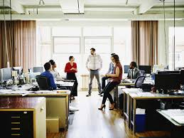 living in office space. Real Estate Office Space: Corporations Cutting Down On Personal Space | Time Living In T