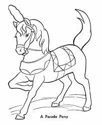 Small Picture Circus Parade Pony Coloring Pages Printable performing Circus