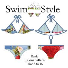 Bikini Patterns Awesome Decorating