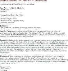 Teacher Sample Cover Letter Resume Bank