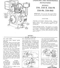 Briggs And Stratton Engine Oil Capacity Chart Professional Power Equipment Technicians Education Network