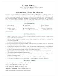 House Painter Resume Resume For Painter Kadil Carpentersdaughter Co