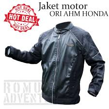 romusha jaket motor honda ori ahm motor jacket vario scoopy apparel touring