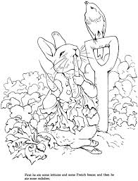 Download Peter Rabbit Coloring Page Stamping