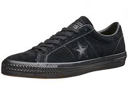converse one star black. converse one star pro shoes black/black/black black e