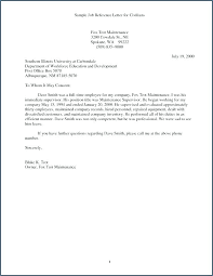 Bank Reference Letter Template Business Employee Character