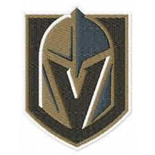 Vegas Golden Knights Logo Machine Embroidery Design For