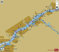Delaware River Extension Top Panel Marine Chart
