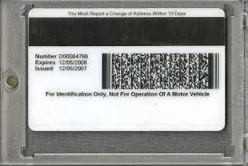 Identification Of Mike Tyson Card - State Arizona Lot Detail