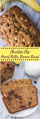 banana chocolate chip ins this peanut er banana bread is a super moist banana bread infused with delicious peanut er