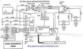 wiring diagrams and schematics fixitnow com samurai appliance ge monogram vent hood model zv950sd2ss schematic