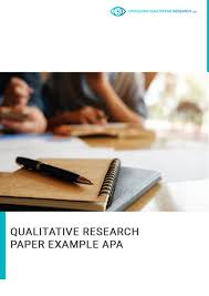 Professional Qualitative Research Paper Example Apa By
