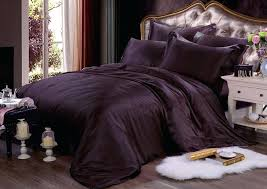 plum duvet cover pure silk duvet cover pillowcases set extra thick seamless bedding set dark purple plum duvet cover