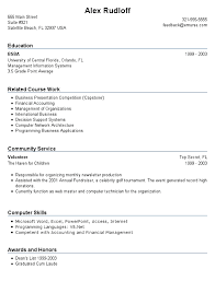 Resume Templates For No Experience Resume Examples For No Experience Job  Template Ideas