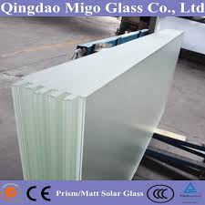 70 haze diffuse greenhouse glass tempered glass cut to size