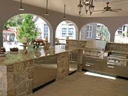 Simple Outdoor Kitchen Designs Outside Kitchen Outdoor Kitchen Granite How To Anchor An Outdoor